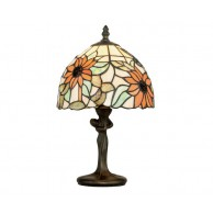 Luce Ambiente Dafne Liberty Tiffany namizna svetilka Ø 200 ↕ 350