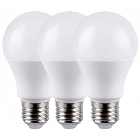 LED sijalka E27 12 W 6400 K Ø 60 ↕ 114 3 kosi
