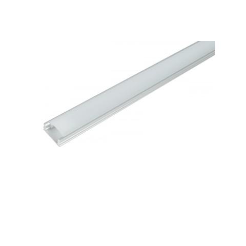 Nadgradni alu profil za LED trak ↔ 1000