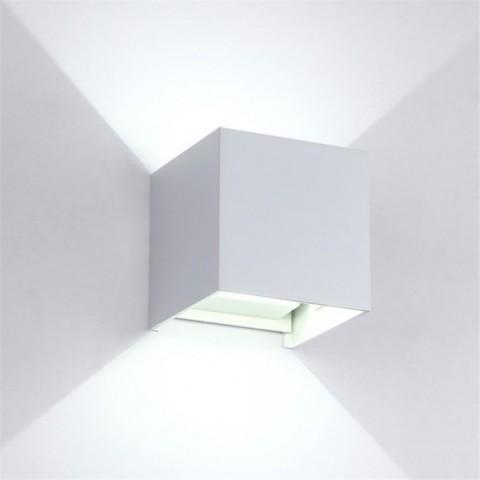 Led Wall Light Square IP54 zunanja svetilka ↔ 100 ↕ 100 IP54