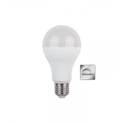 LED sijalka E27 12 W 2700 K Ø 64 ↕ 138 zatemljiva