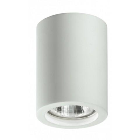 Intec Space stropna svetilka iz mavca Ø 70 ↕ 90