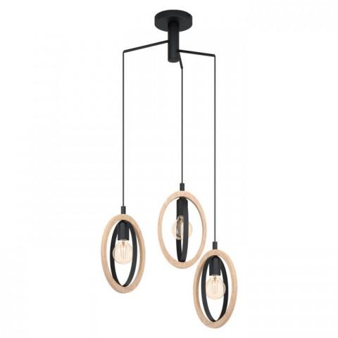 Eglo Basildon viseča svetilka ↔ 615 ↕ 1300