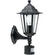 Eglo Laterna 4 zunanja stenska svetilka s senzorjem IP33 425 x 235 x 165