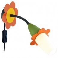 Eglo Viki 2 otroška stenska svetilka ↔ 325 Ø 130
