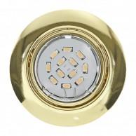 Eglo Peneto vgradna svetilka zlate barve 5 W 3000 K,  Ø 87