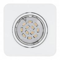 Eglo Peneto vgradna svetilka bele barve, 5 W, 3000 K,  87 x 87
