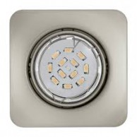 Eglo Peneto vgradna svetilka nikelj, 5 W, 3000 K,  87 x 87