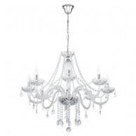Eglo Glass Chandelier viseča svetilka Ø 820 ↕ 1100