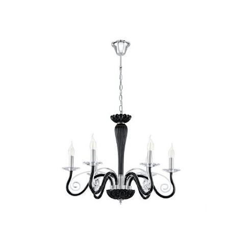 Eglo Glass Chandelier viseča svetilka Ø 640 ↕ 1100