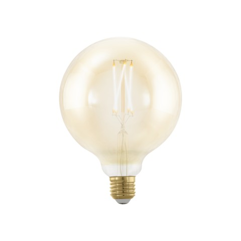 Eglo LED Vintage Style Filament sijalka E27 4 W ↕ 160 Ø 125 zatemljiva